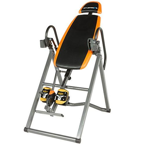 Exerpeutic 475SL Inversion with AIRSOFT Pinch Ankle Holders Safety