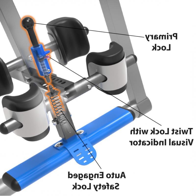 690xl triple safety locking inversion table