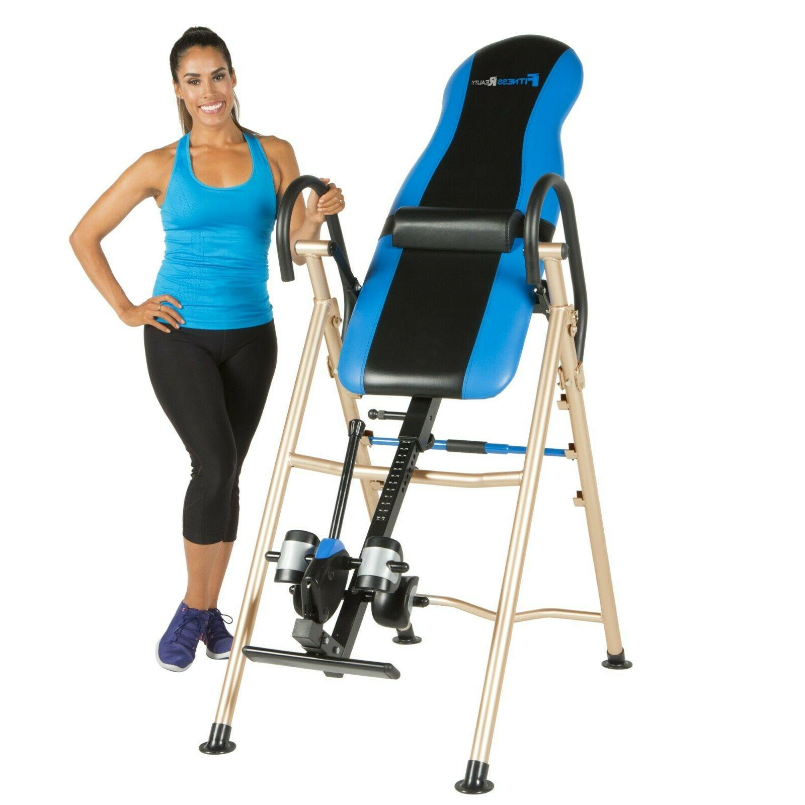 990xl inversion table with lumbar pillow
