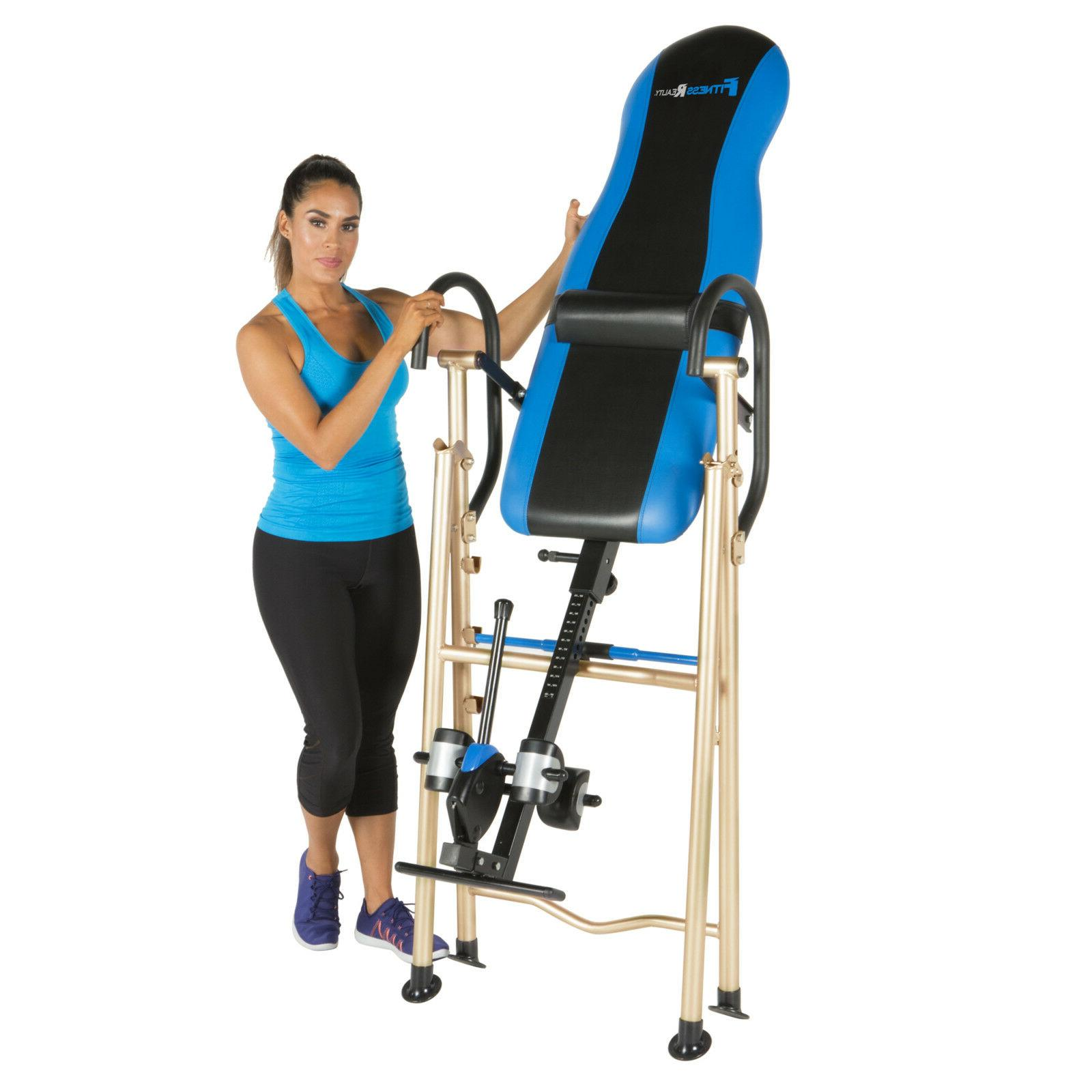 990xl inversion table with unique surelock safety