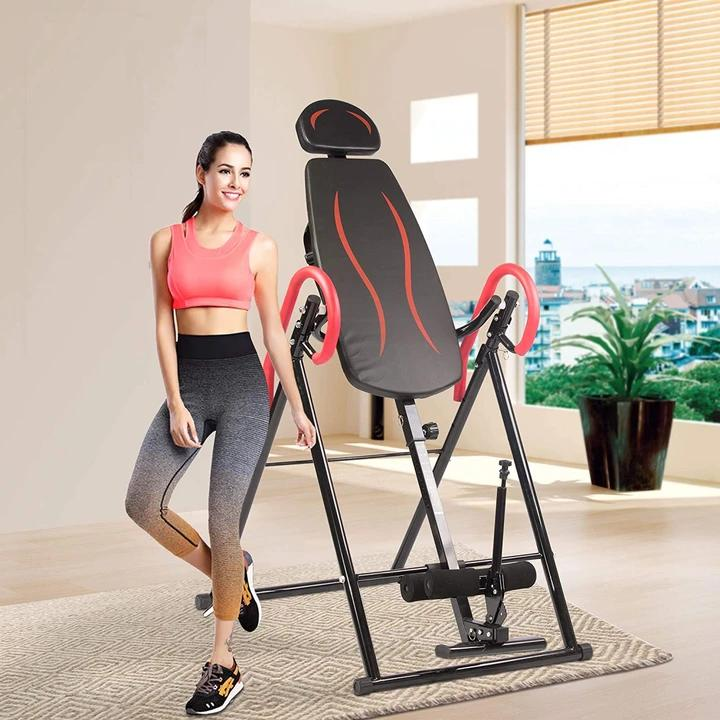 adjust heavy inversion table pain relief stretcher
