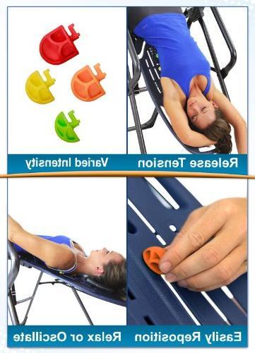 Teeter Back Adjustable Red/Orange/Yellow/Green