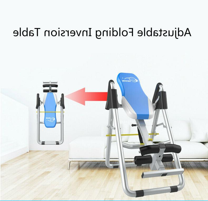 adjustable folding inversion table inversion machine