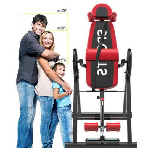 Foldable Inversion Table Back Fitness US