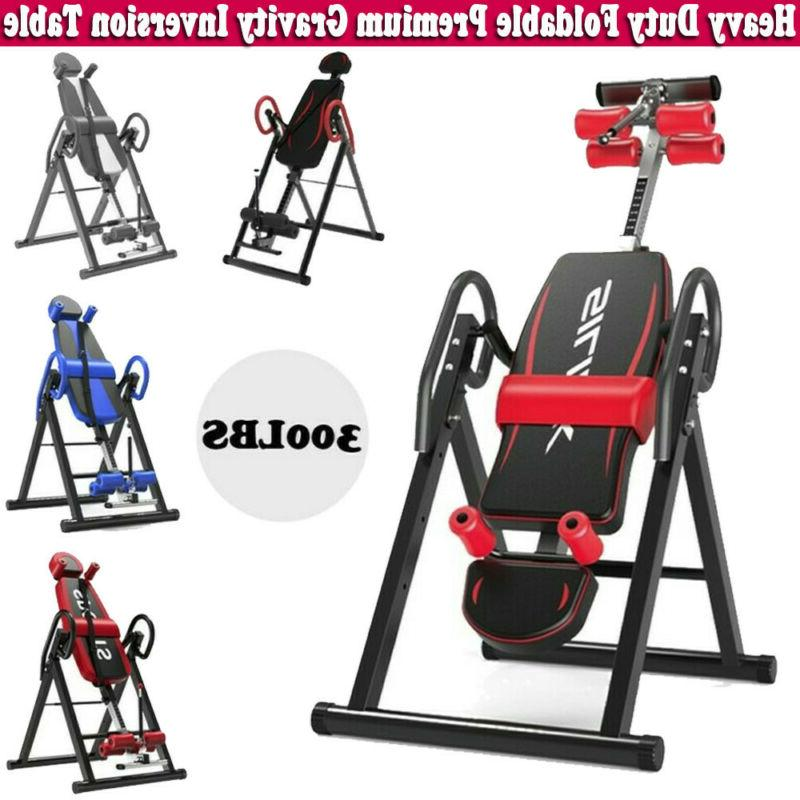 adjustable heavy duty inversion table back pain
