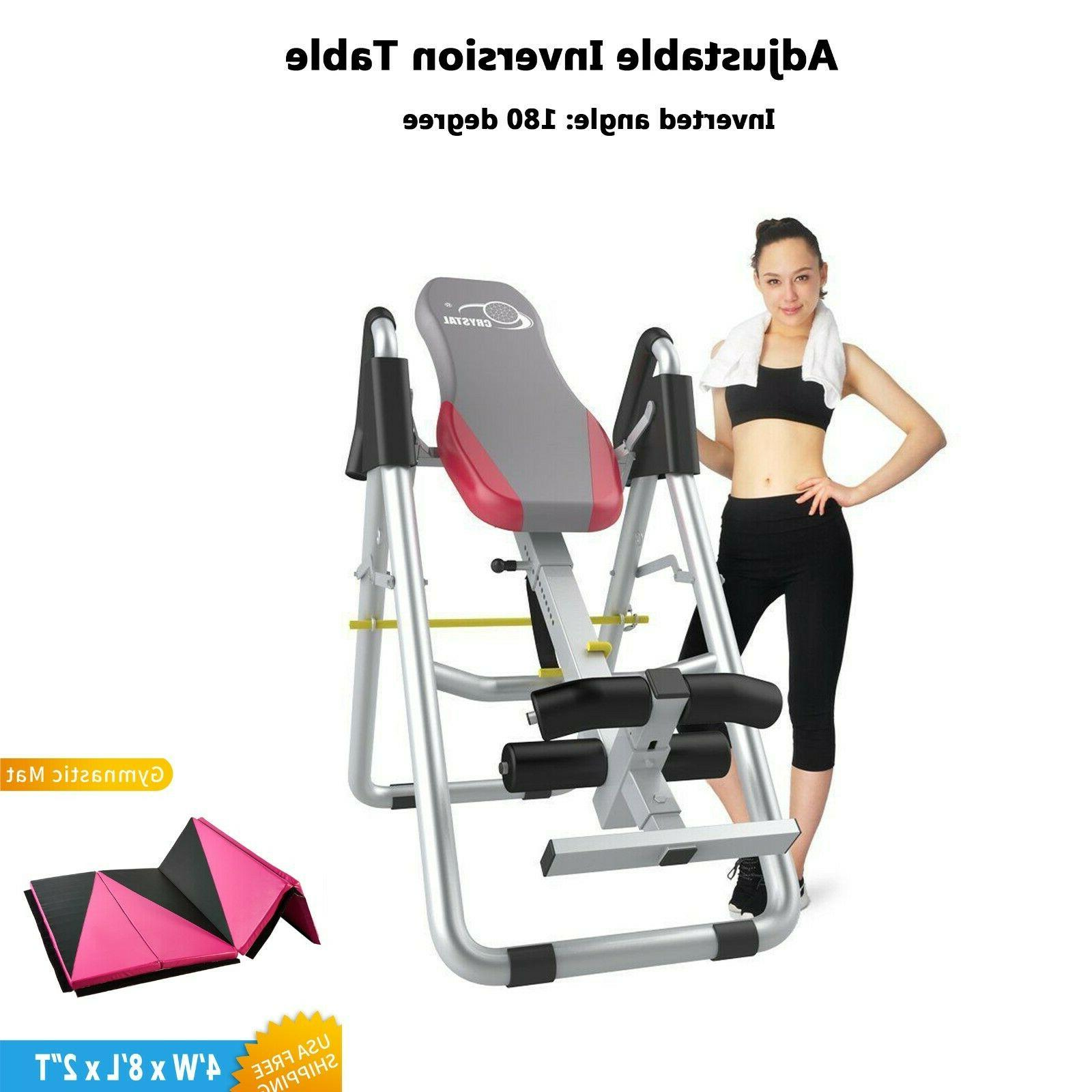 adjustable inversion table for home use back