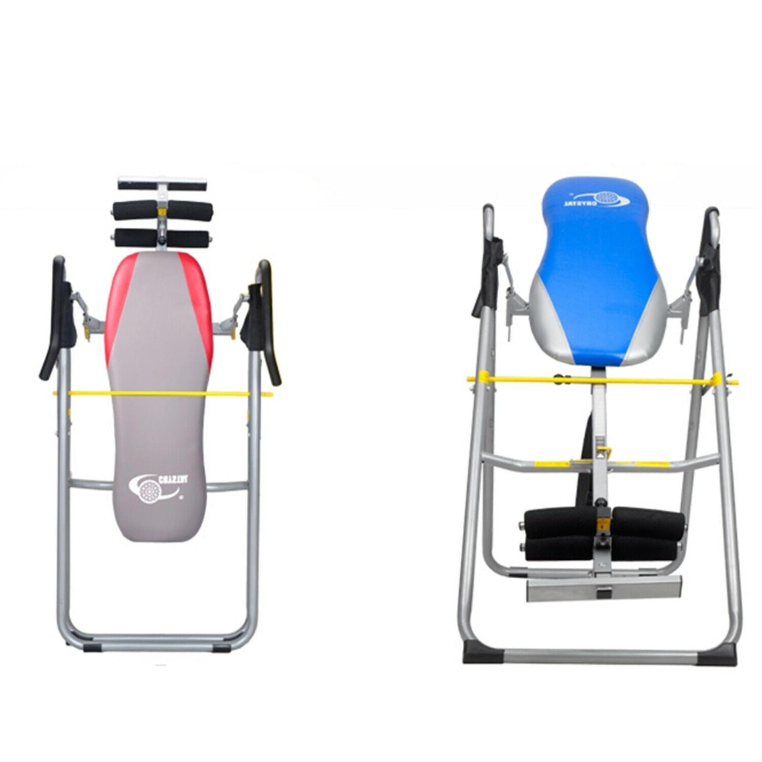 adjustable inversion therapy table heavy duty folding