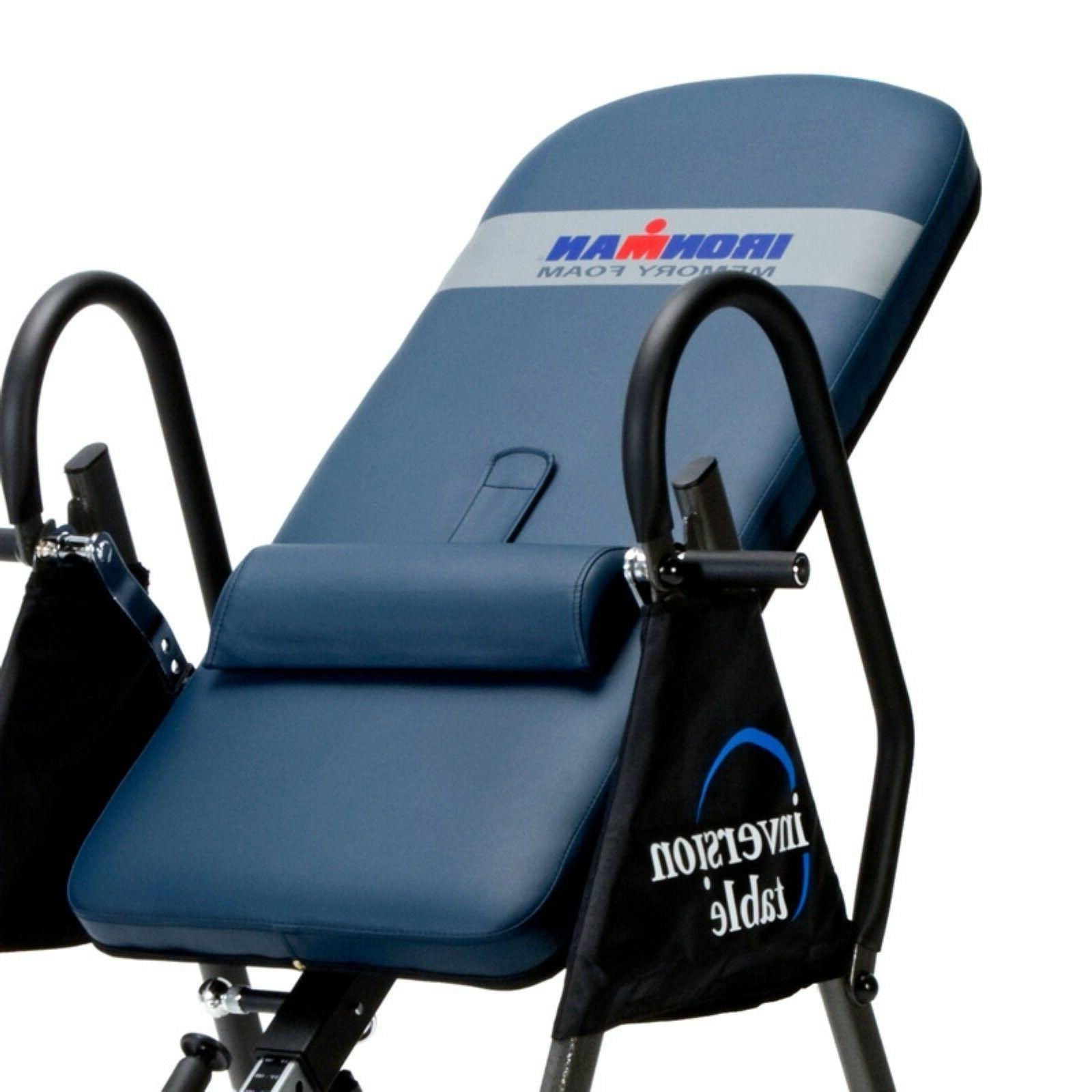 Anti Gravity Inversion Table Back Therapy Pain