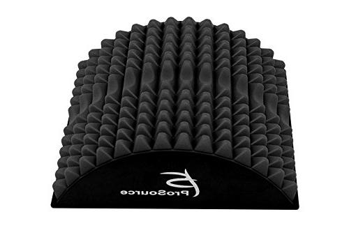ProSource Arched Spike Orthopedic Traction & Lower Support, Black