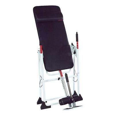 back a traction inversion table