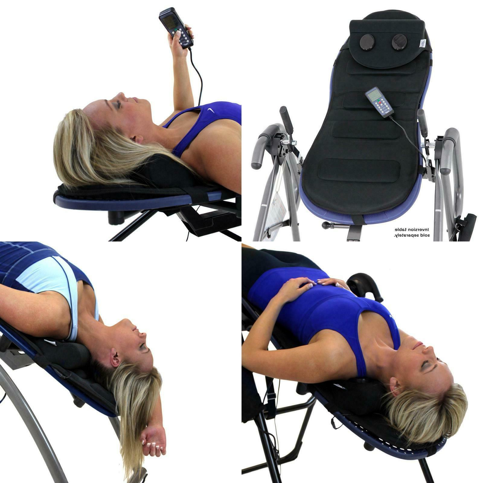 Comfortable Microfiber Soft Back Neck Vibration Inversion Table