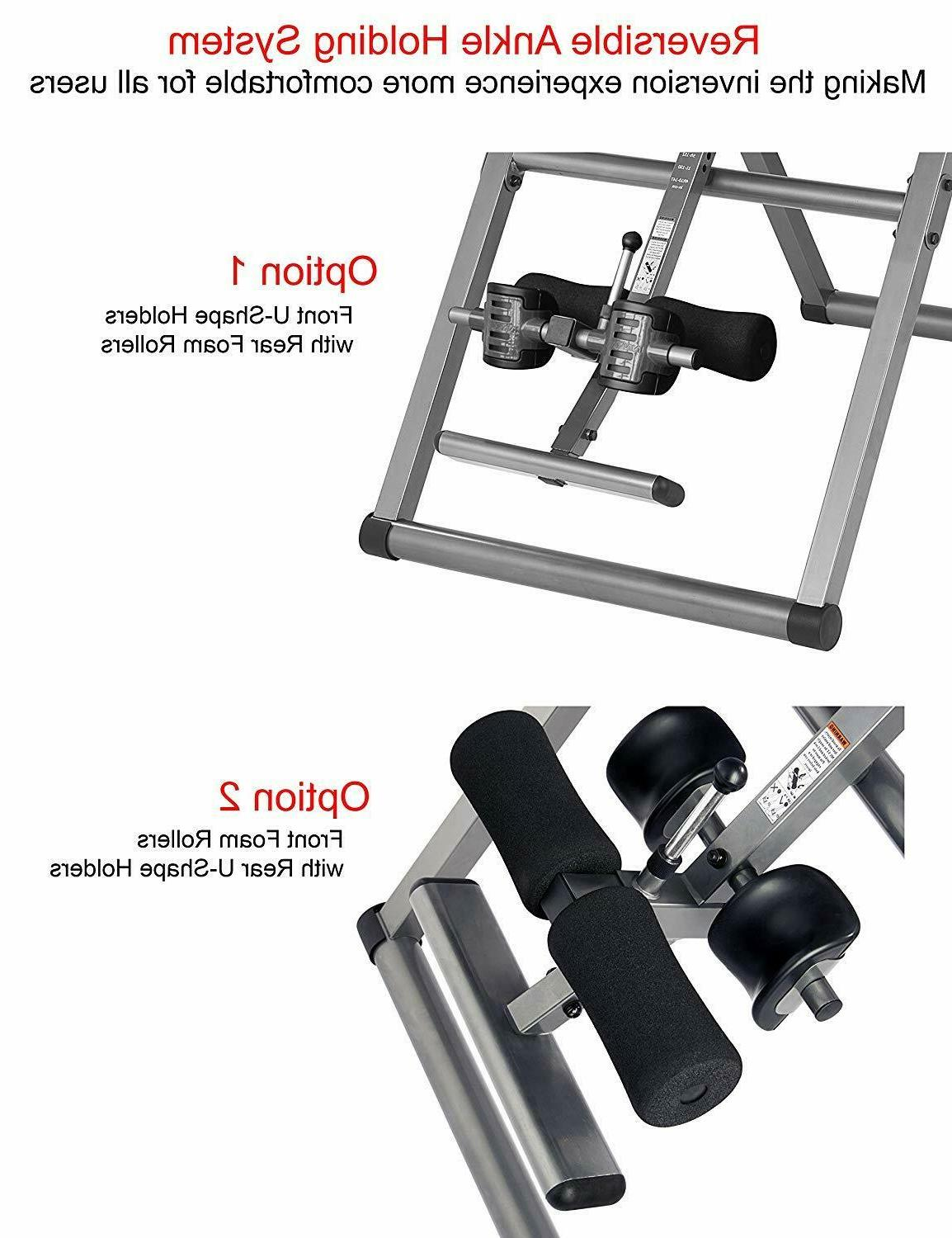 Inversion Tables Large Folding Heavy Duty