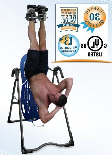 Teeter EP-560 FDA-Cleared Inversion Table pain relief, Certified,