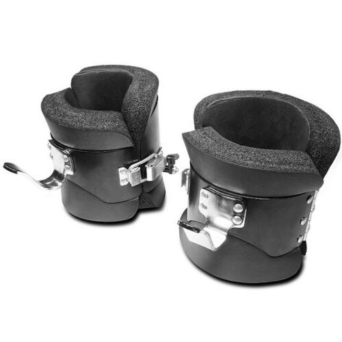 Fitness Pair Gravity Therapy Spine Ab Chin Black