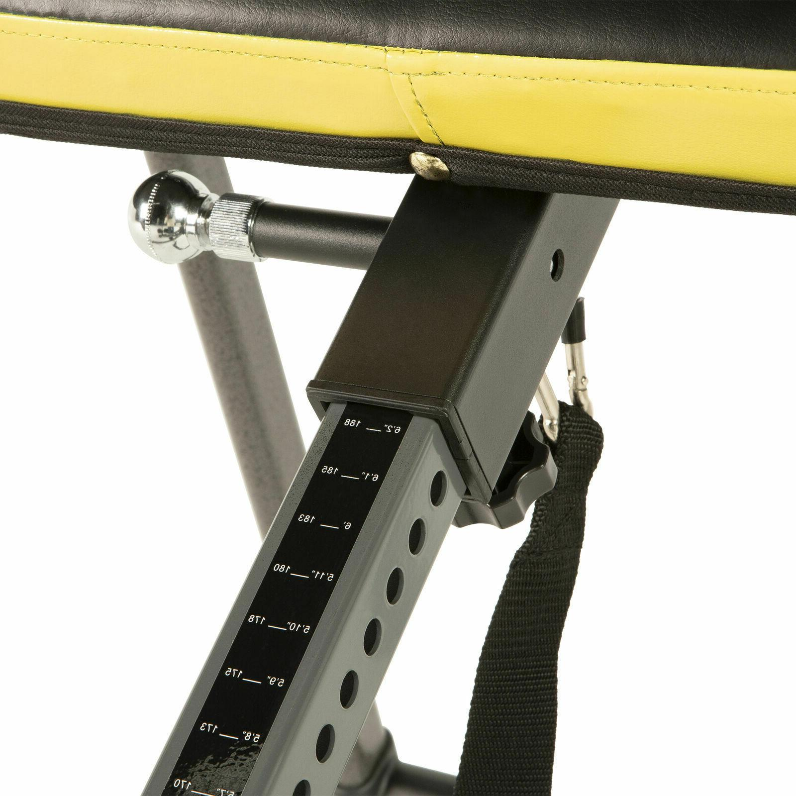 IRONMAN Fitness Inversion Table Back Therapy 350 lb Weight Capacity