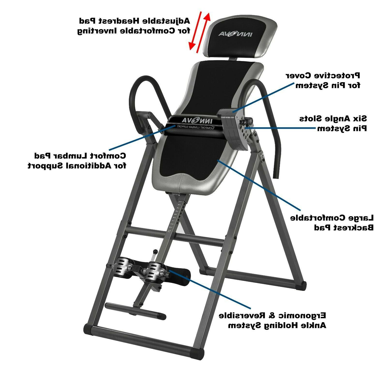 Innova Heavy Duty Inversion Therapy Table