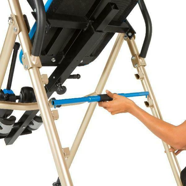 Fitness Reality Inversion Table with Unique Safety