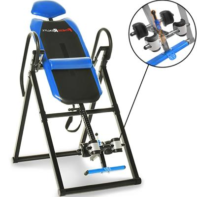 Fitness Reality Triple Safety Locking Inversion Table W/Lumb