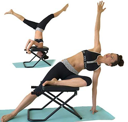 Sisyama Fitness Yoga Inversion Bench + Workout