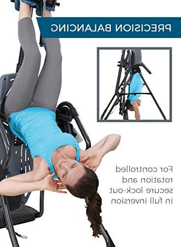 Teeter LX9 Inversion Table, Easy-to-Reach Pain Relief