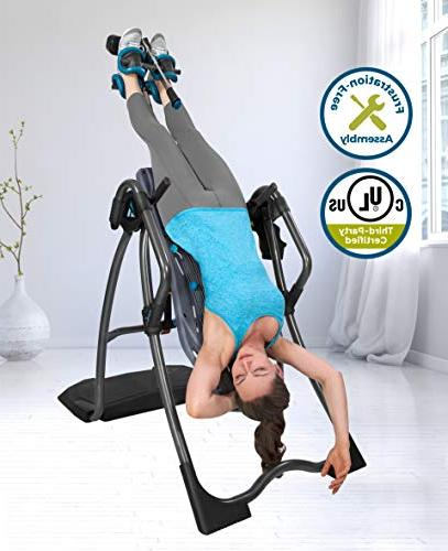 Teeter Inversion Table, Easy-to-Reach Ankle Back