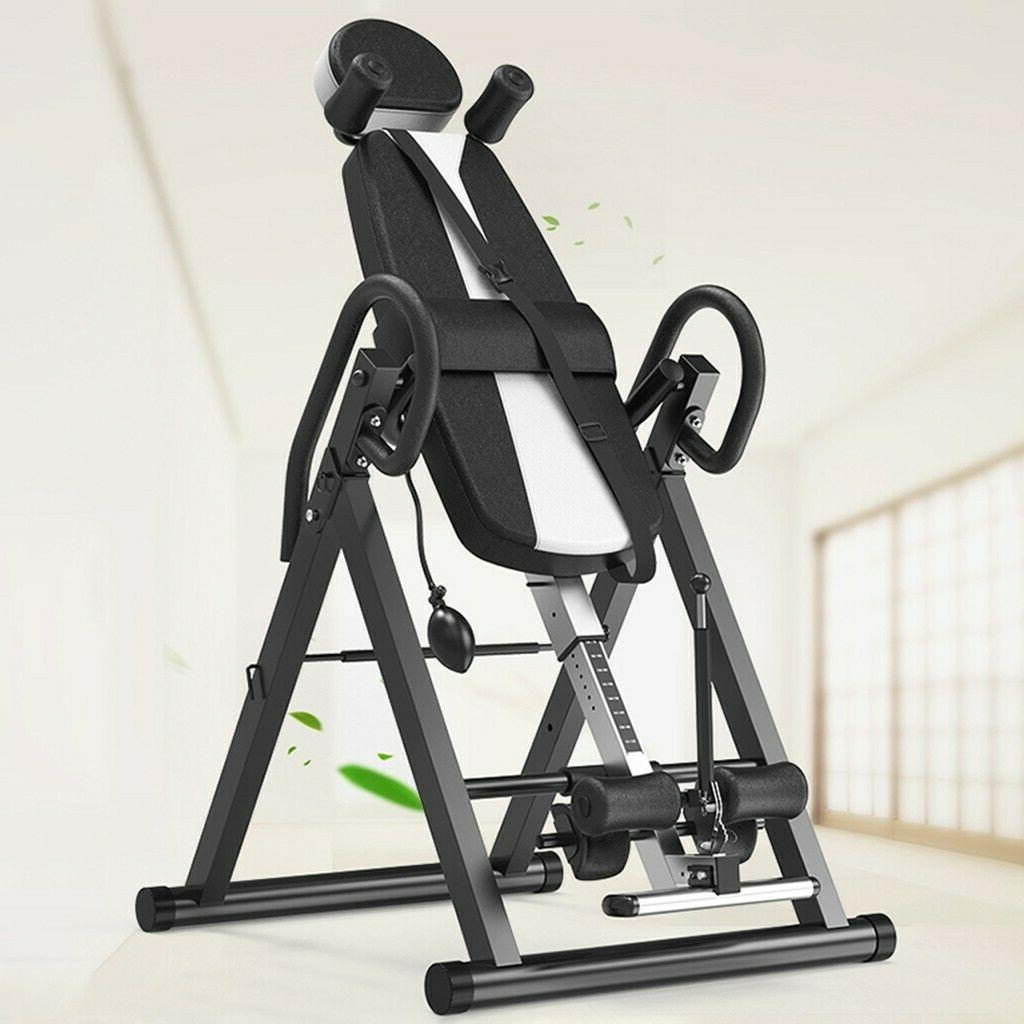 Fitness Chiropractic Back Stretcher Inversion Table Heavy Du