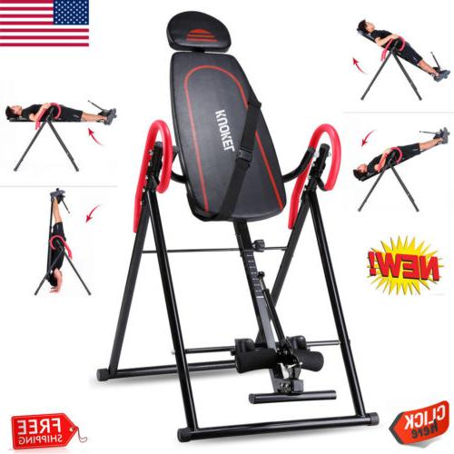 foldable inversion table back therapy pain flip