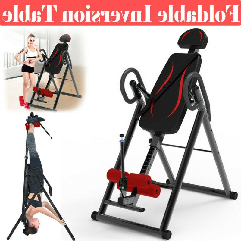 foldable inversion table premium gravity back therapy