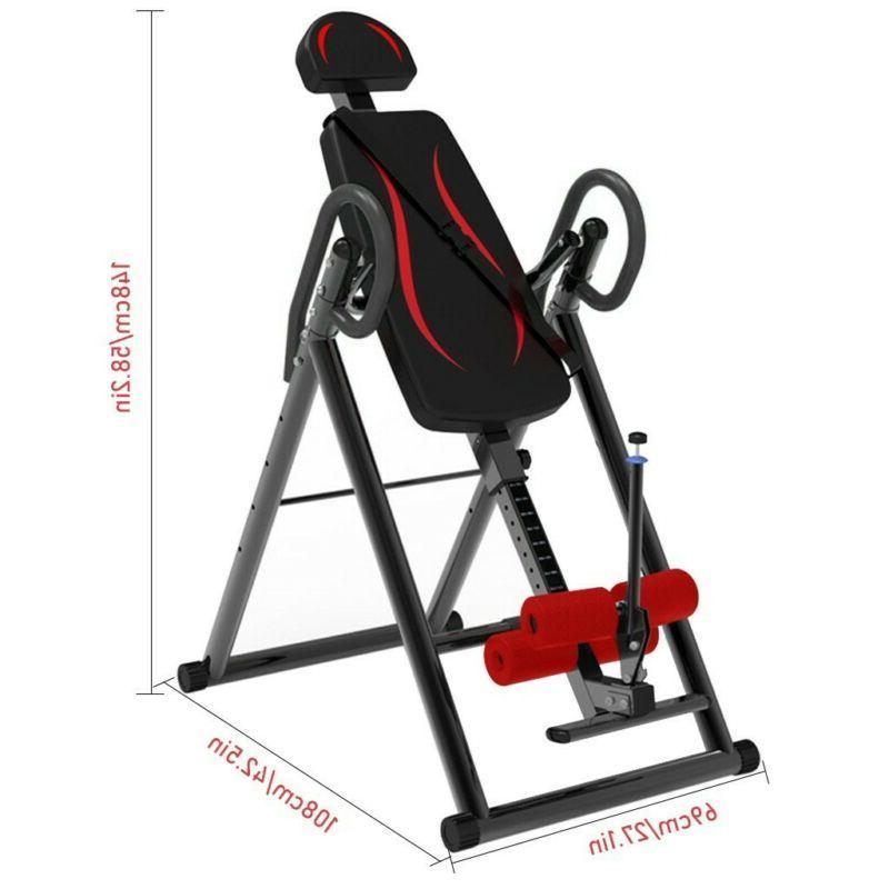 Foldable Inversion Gravity Back Bench Fitness