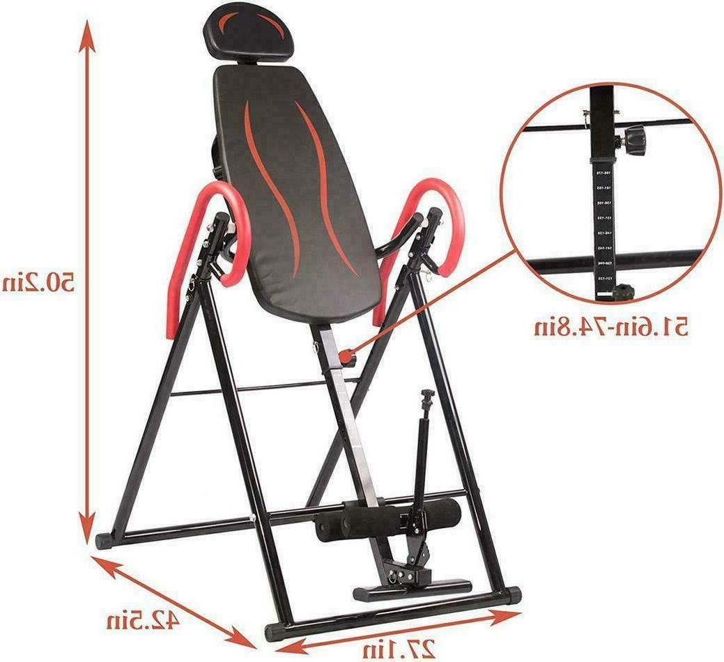 Foldable Inversion Bench