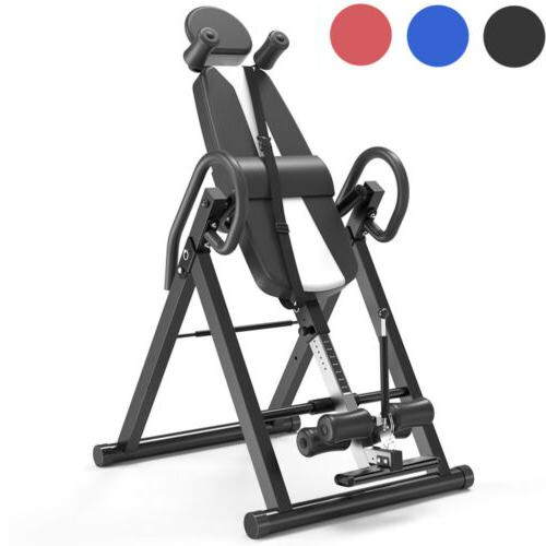 foldable new premium gravity inversion table back