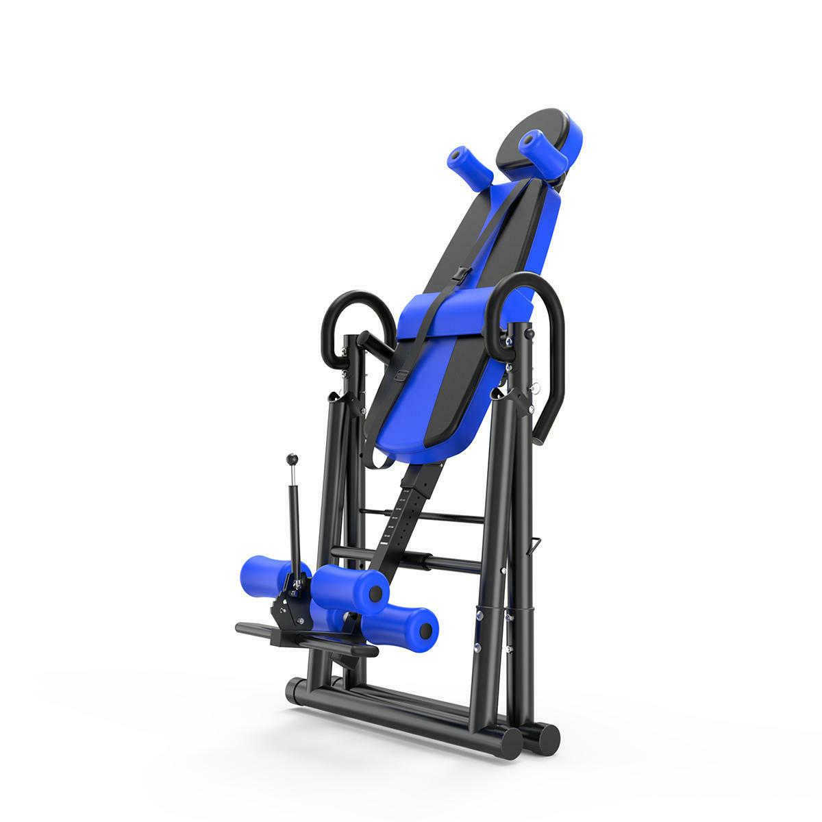 New Foldable Premium Inversion Table Back Therapy Folding Sports Fitness