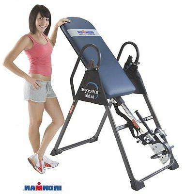 gravity 4000 high capacity inversion table back