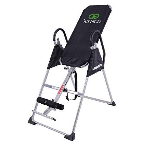 gravity fitness therapy inversion table adjustable folding