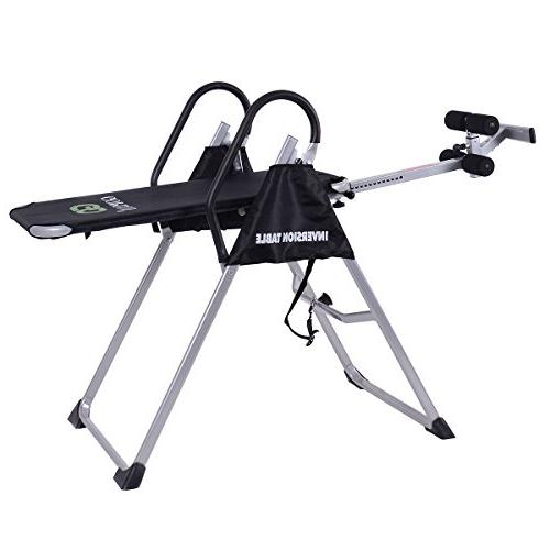 Inversion Table Adjustable Back Therapy