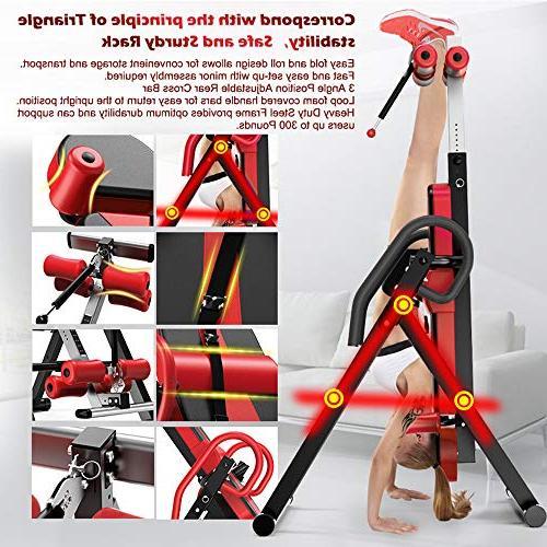Yoleo Inversion Adjustable Headrest & Belt