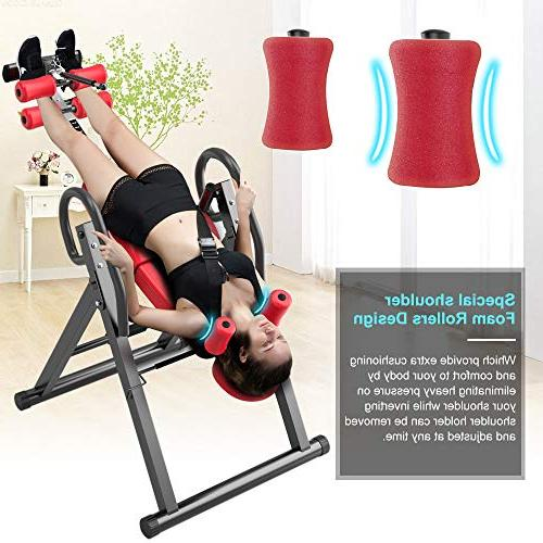 Yoleo Gravity Duty Inversion Table with Adjustable Headrest