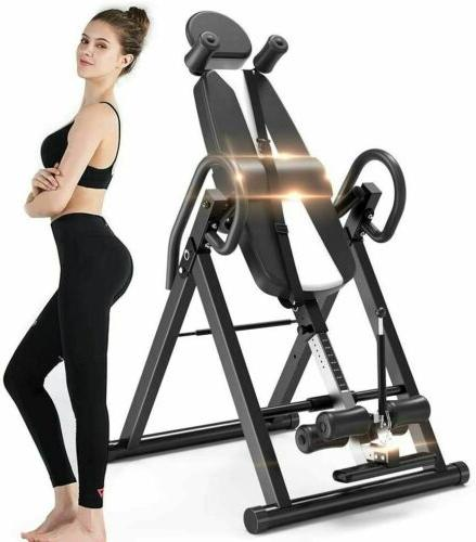 Gravity Inversion Table Back Fitness Exercise