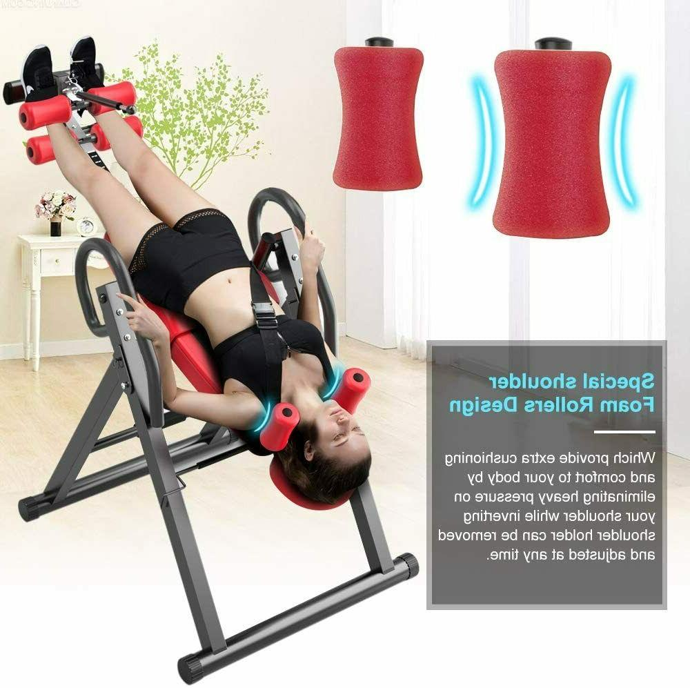 Gravity Duty Inversion Table Stretcher Pain