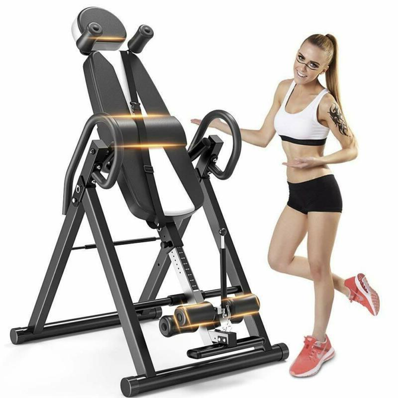 gravity heavy duty inversion table with headrest