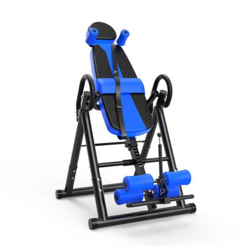 gravity inversion table back therapy reflexology home