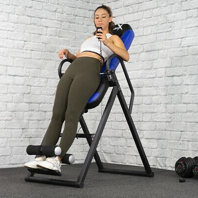330lb inversion table heated massage fitness chiropractic
