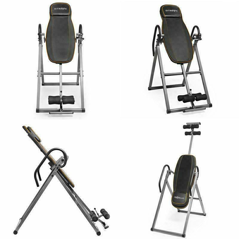 gym fitness strength training inversion table back