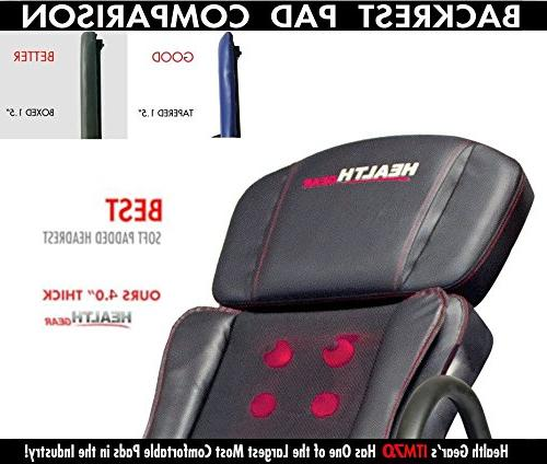 Health Gear Patented Deep Tissue Shiatsu & Inversion - Duty up to 300