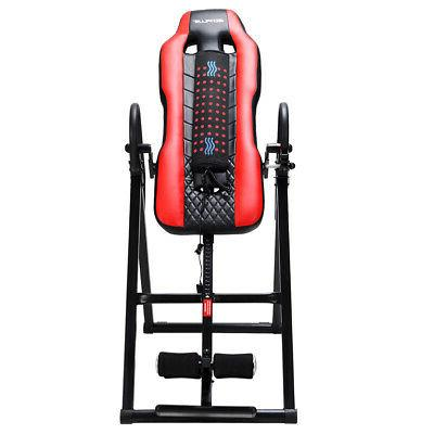 Heat Massage Inversion Table Backrest Fitness Therapy