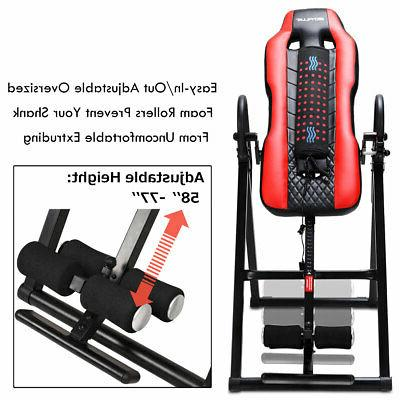 Heat & Inversion Table Backrest Fitness Therapy