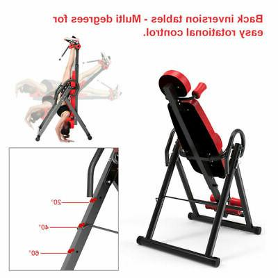 Pro Folding Inversion Ankle Back Pain Relief Therapy Fitness