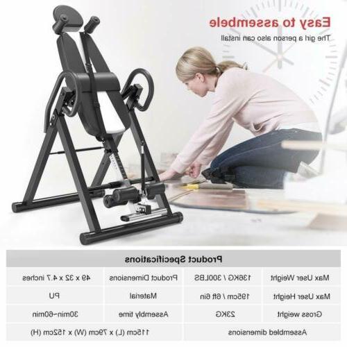 New Foldable Inversion Fitness Reflexology
