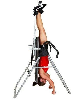 Heavy Gravity Inversion Therapy For Back & Neck Pain Exercise