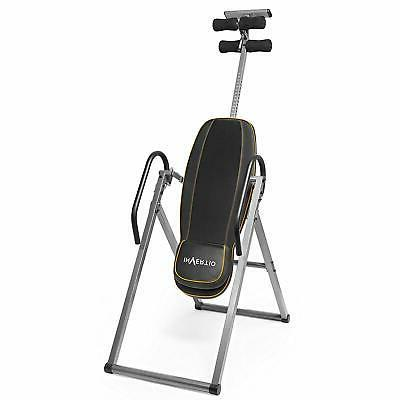 Heavy Duty Gravity Inversion Therapy Table Exercise
